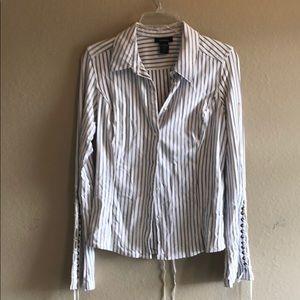 Pin stripe blouse